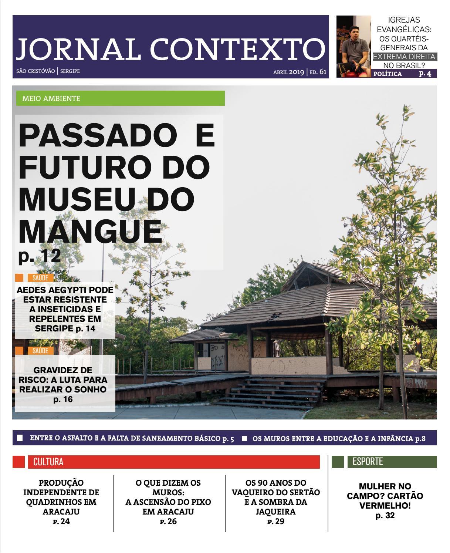 779a1bbb9b Jornal Contexto 61 by Jornal Contexto (DCOS UFS) - issuu