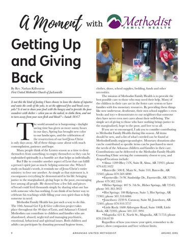 Page 10 of Getting Up and Giving Back