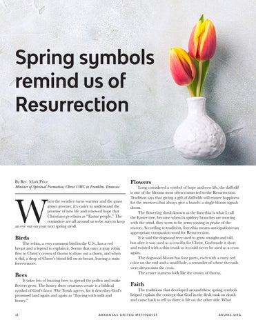 Page 12 of Spring symbols remind us of Resurrection