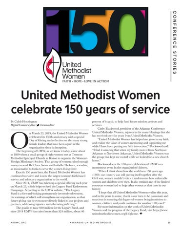 Page 19 of United Methodist Women celebrate 150 years of service