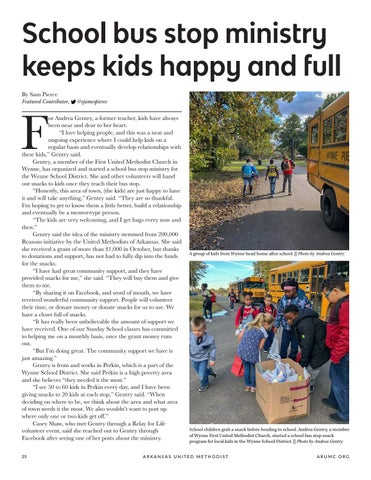 Page 26 of School bus stop ministry keeps kids happy and full