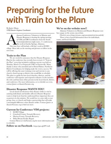 Page 34 of Preparing for the future with Train to the Plan