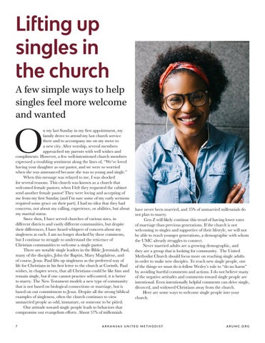 Page 8 of Lifting up singles in the church