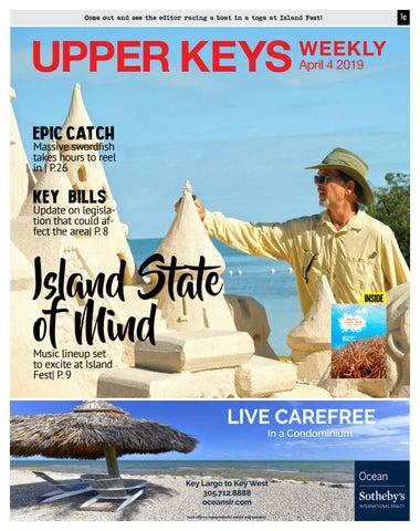 Upper Keys Weekly – 4/04/19 by Keys Weekly Newspapers - issuu