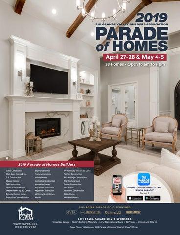 2019 RGVBA Parade of Homes Guidebook by New Homes South