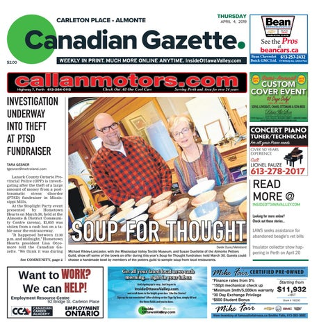 Almonte Carleton Place Canadian Gazette April 4, 2019 by