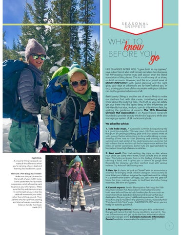 Page 7 of Backcountry adventures with kids: What to know before you go.