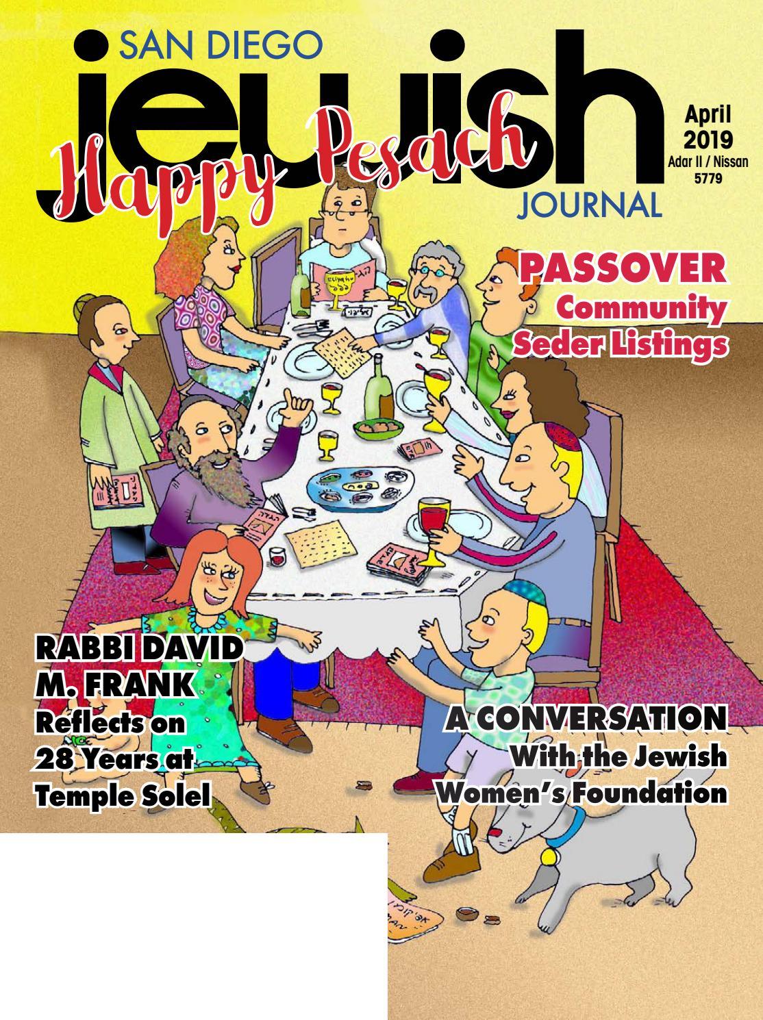 April 2019 by San Diego Jewish Journal - issuu