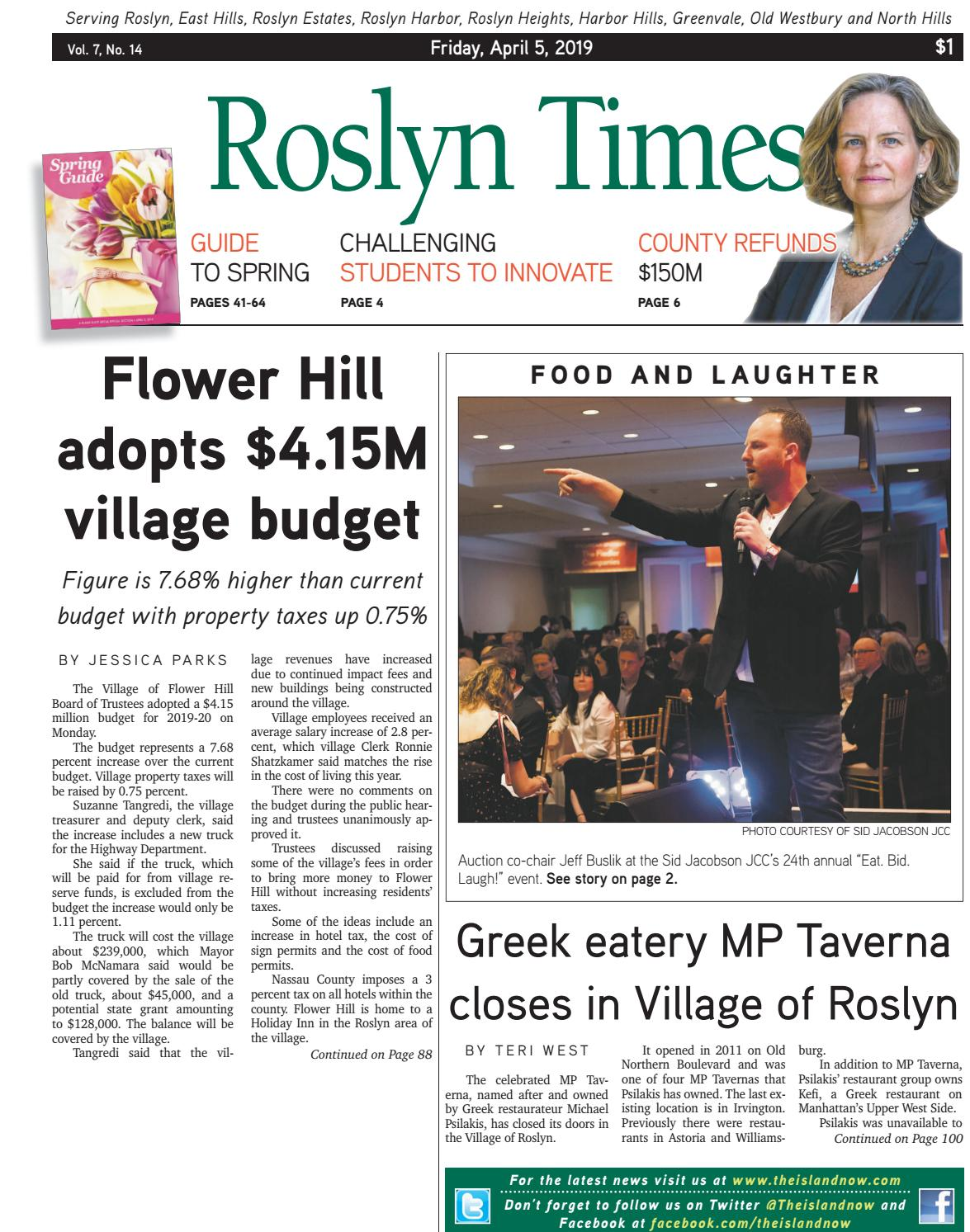 Roslyn 2019 04 05 Pdf By The Island Now Issuu