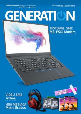 c9fe4beb8 Generation magazín #087 by Generation magazine - issuu