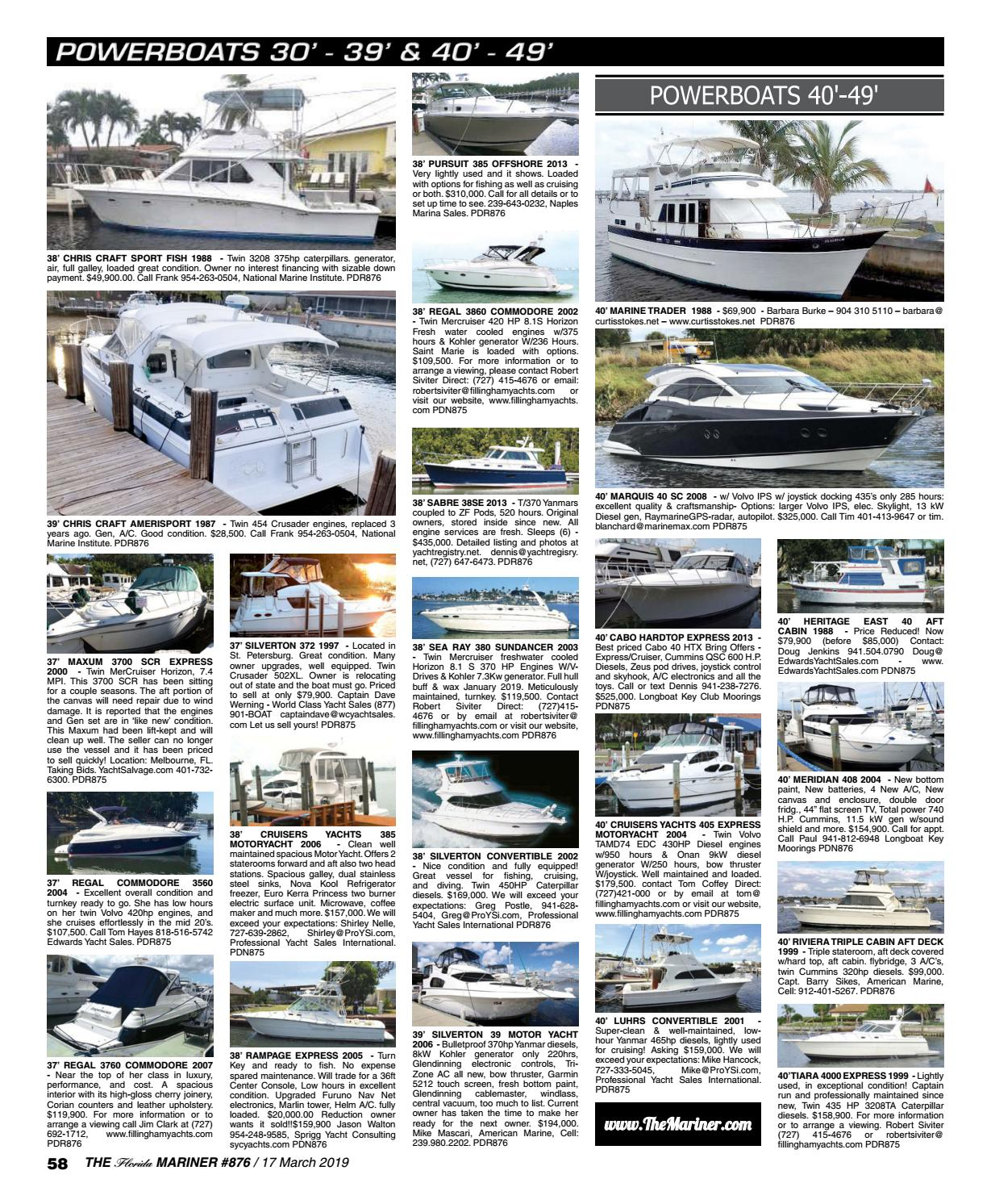 Issue 876 by The Florida Mariner - issuu