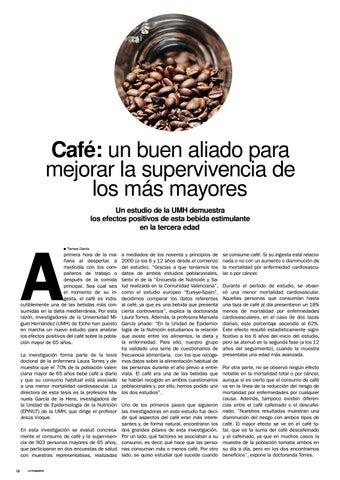 Page 12 of ¿Cómo afecta el café a los mayores?