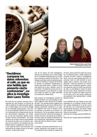 Page 13 of ¿Cómo afecta el café a los mayores?