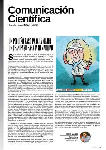 Page 29 of Un pequeño paso para la mujer...