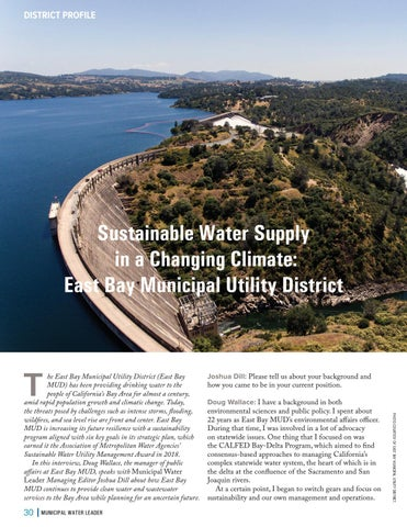 Page 30 of Sustainable Water Supply in a Changing Climate: East Bay Municipal Utility District