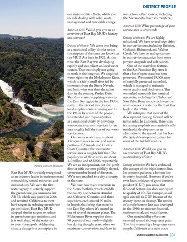 Page 31 of Sustainable Water Supply in a Changing Climate: East Bay Municipal Utility District