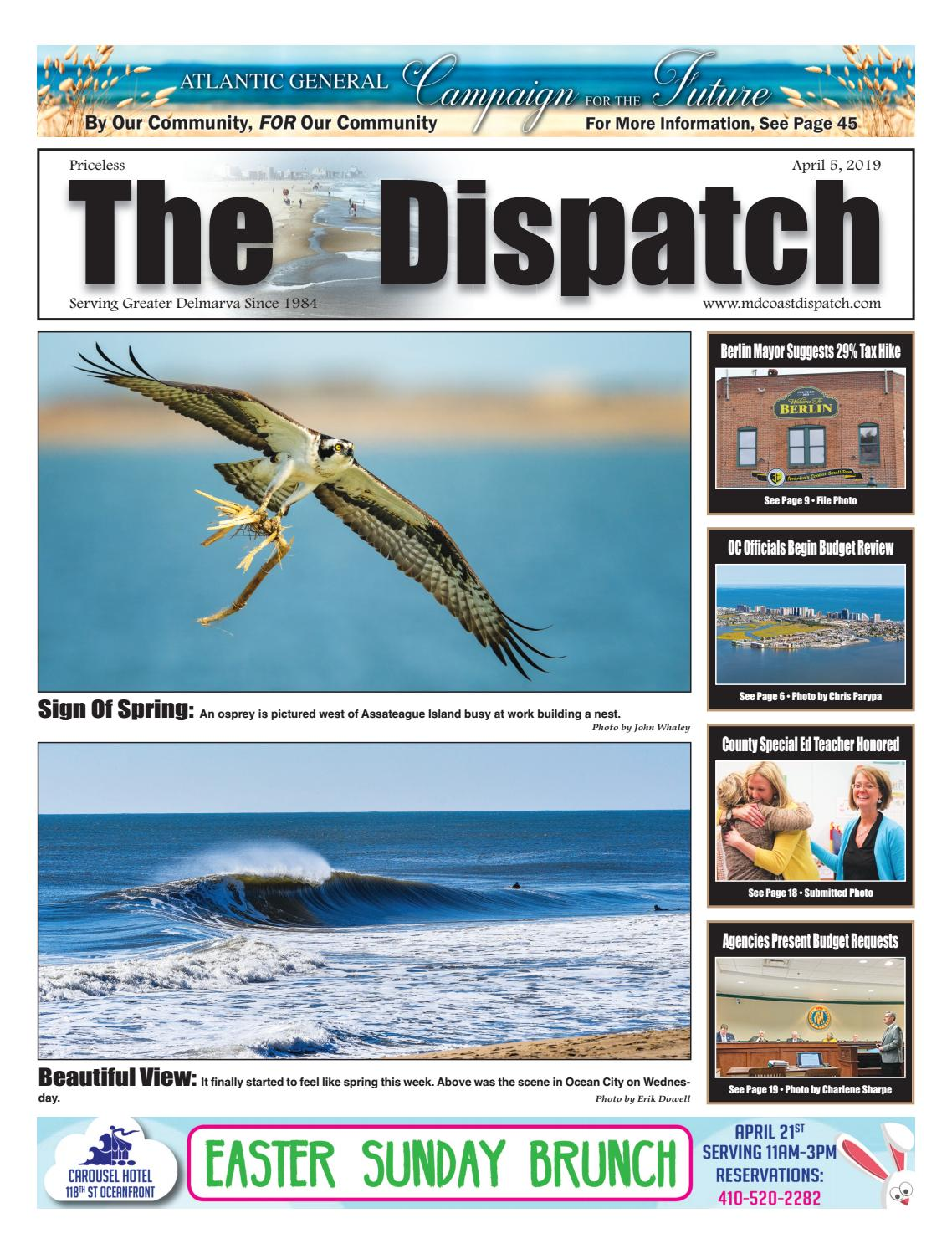 Remarkable April 5 By Mdcoastdispatch Issuu Wiring Cloud Oideiuggs Outletorg