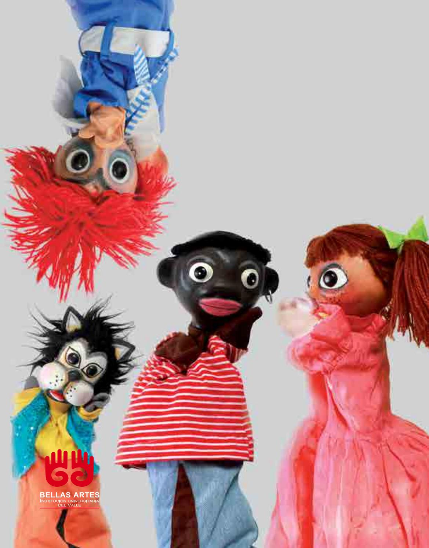 Muchacha encantadora con las marionetas del pa/ño Marioneta de la mano del modelo de la historieta