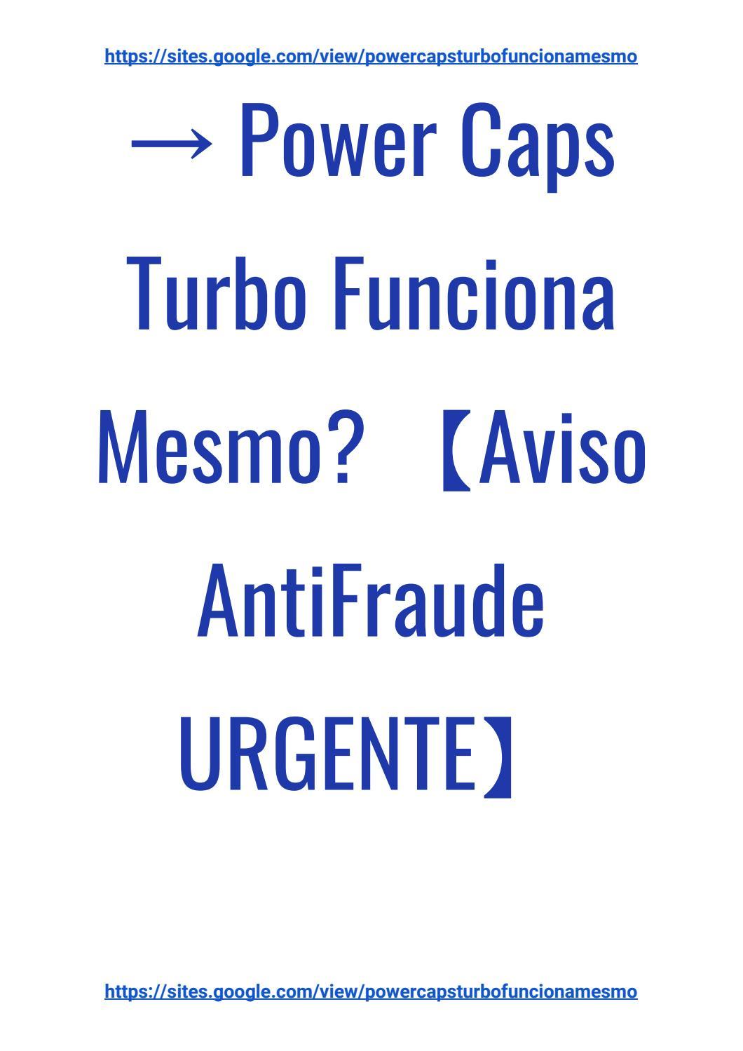 powercaps turbo para que serve
