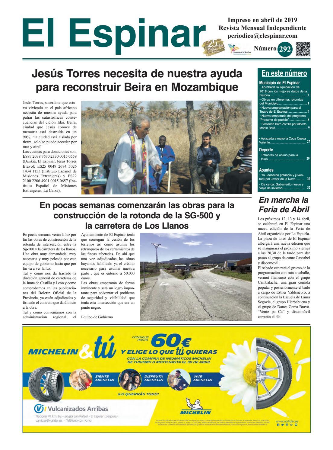 Periódico El Espinar nº292 by juan jesus maria garcia issuu
