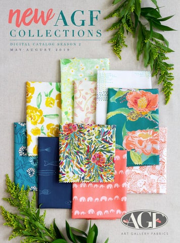 966d04f25f7 AGF Fabric Collections | May-August 2019 by Art Gallery Fabrics - issuu