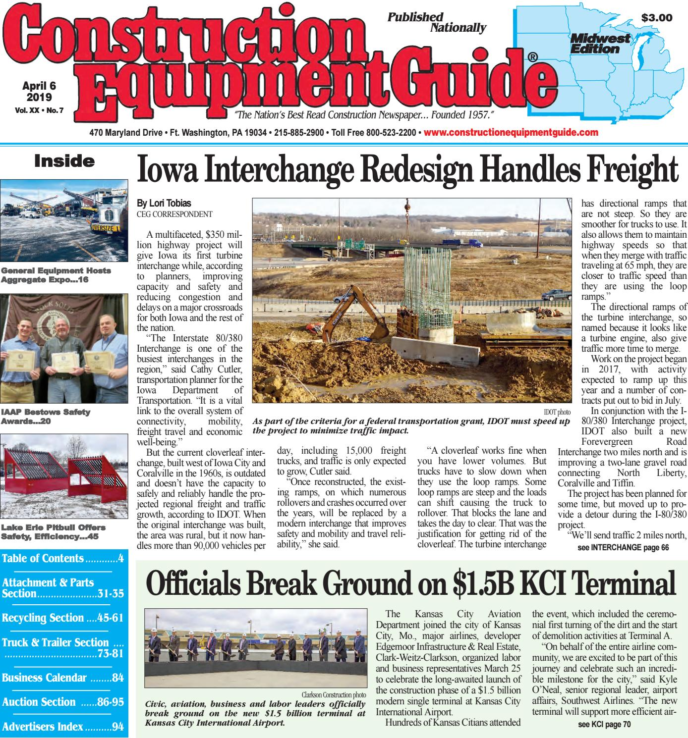 Midwest 7 April 6, 2019 by Construction Equipment Guide - issuu