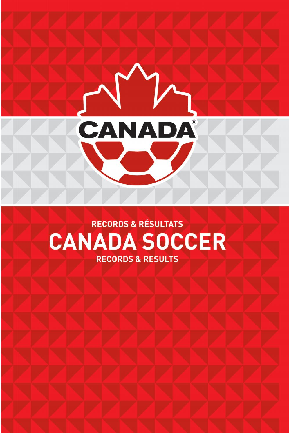 2019 Canada Soccer Records & Results by Canada Soccer - issuu