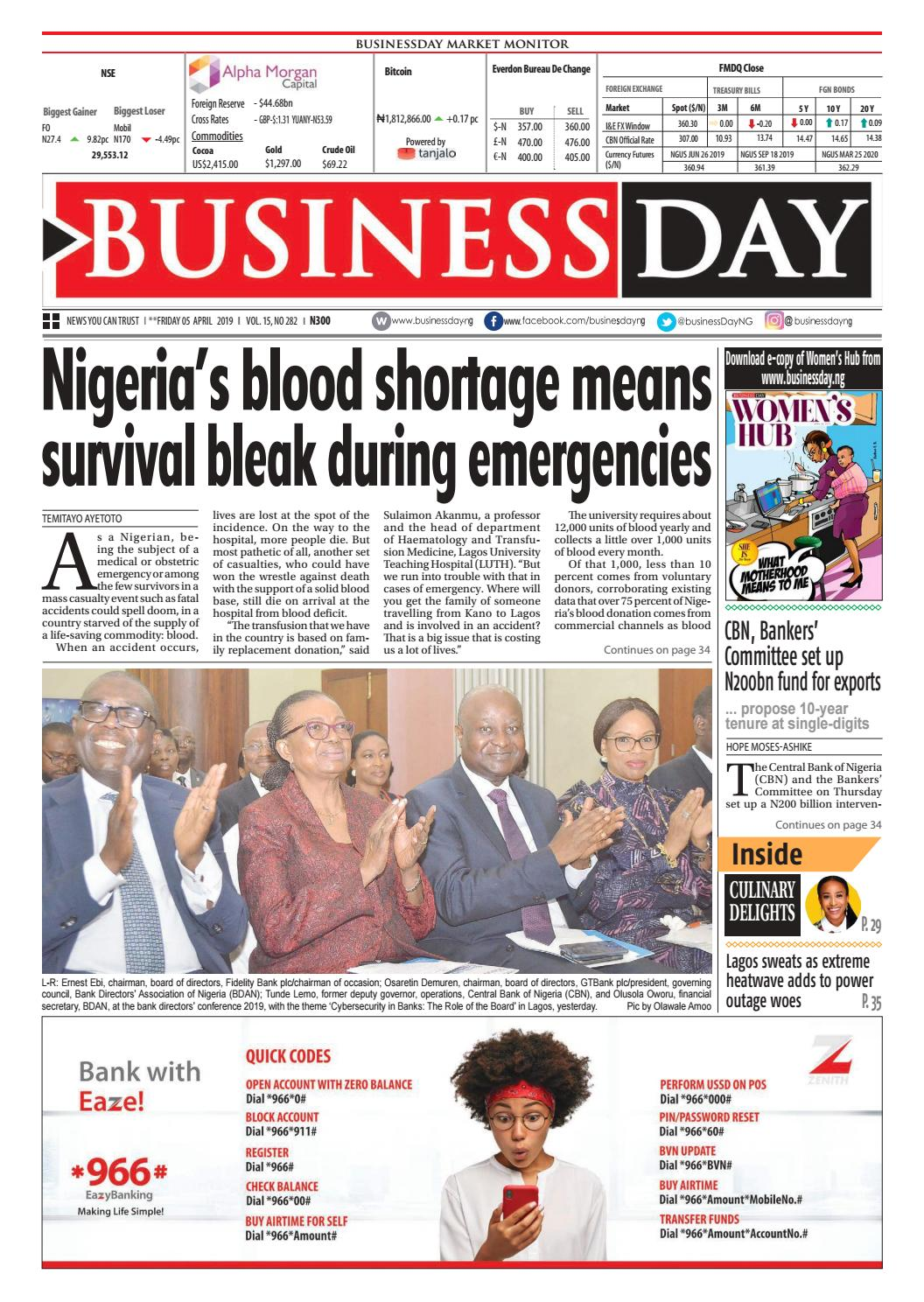 20747d4adf BuinessDay 05 Apr 2019 by BusinessDay - issuu
