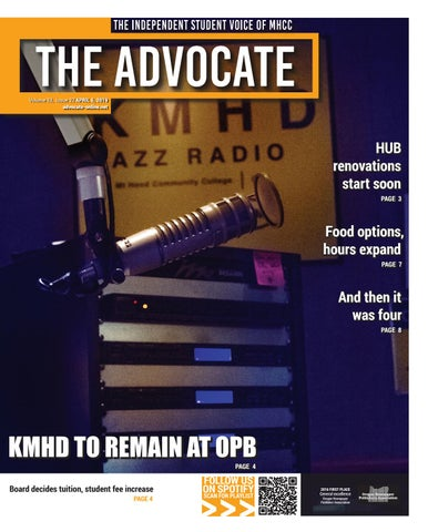 The Advocate, Issue 22 - April 5, 2019 by The Advocate - issuu