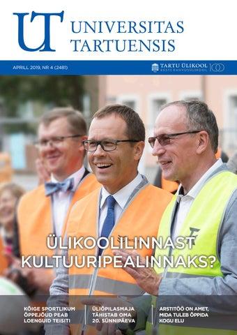 fccc17c66ec UT aprill 2019 by Universitas Tartuensis - issuu