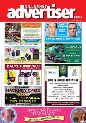 cba51deaf Killarney Advertiser 12th April 2019 by Killarney Advertiser - issuu