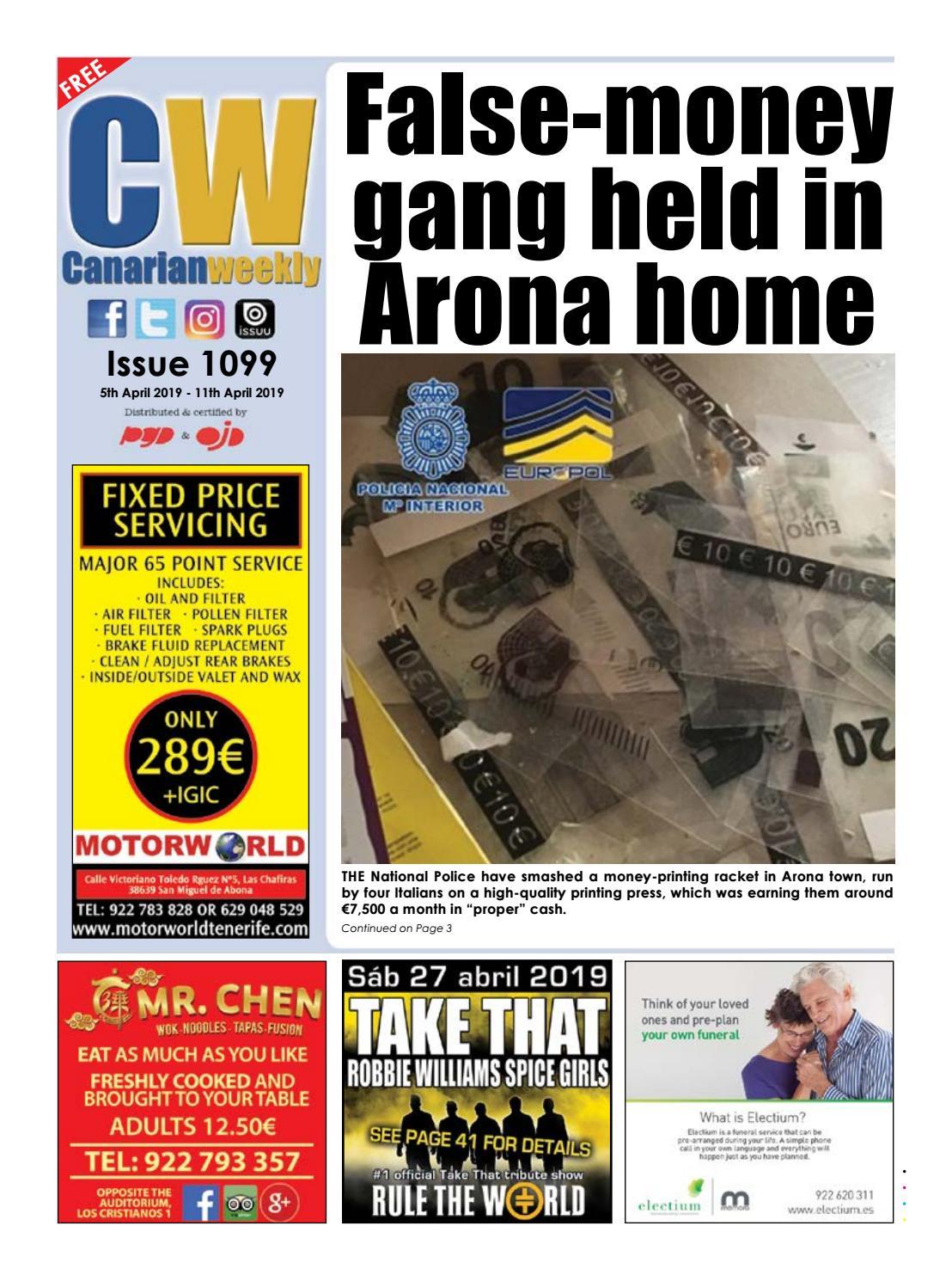 CW issue 1099 by Canarian Weekly - issuu