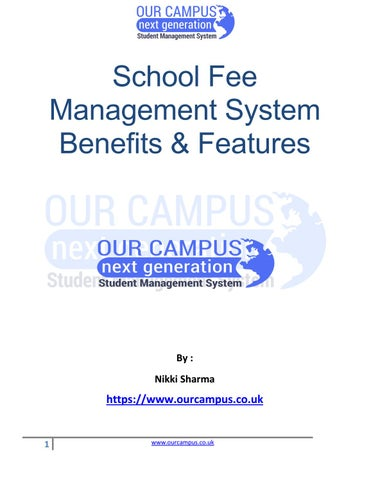 School And College Fee Management Software – Key Benefits by Our