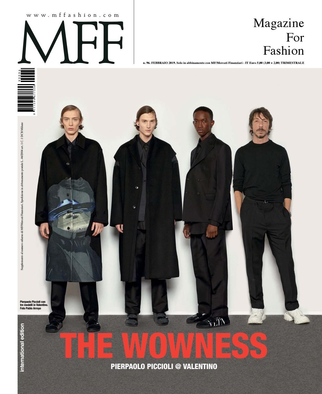 Mff Issuu Fashion For Class 96 Magazine By Editori mwnvN80O