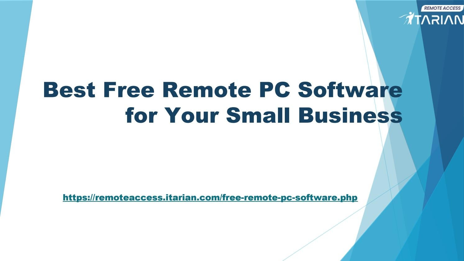 Free Remote PC Software for Your Small Business by aaronmacro - issuu