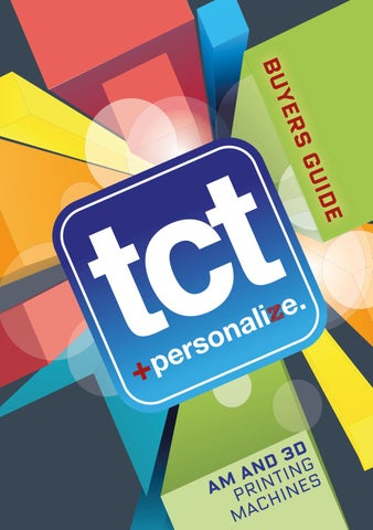 TCT Buyers' Guide 2015 by TCT Magazine - issuu