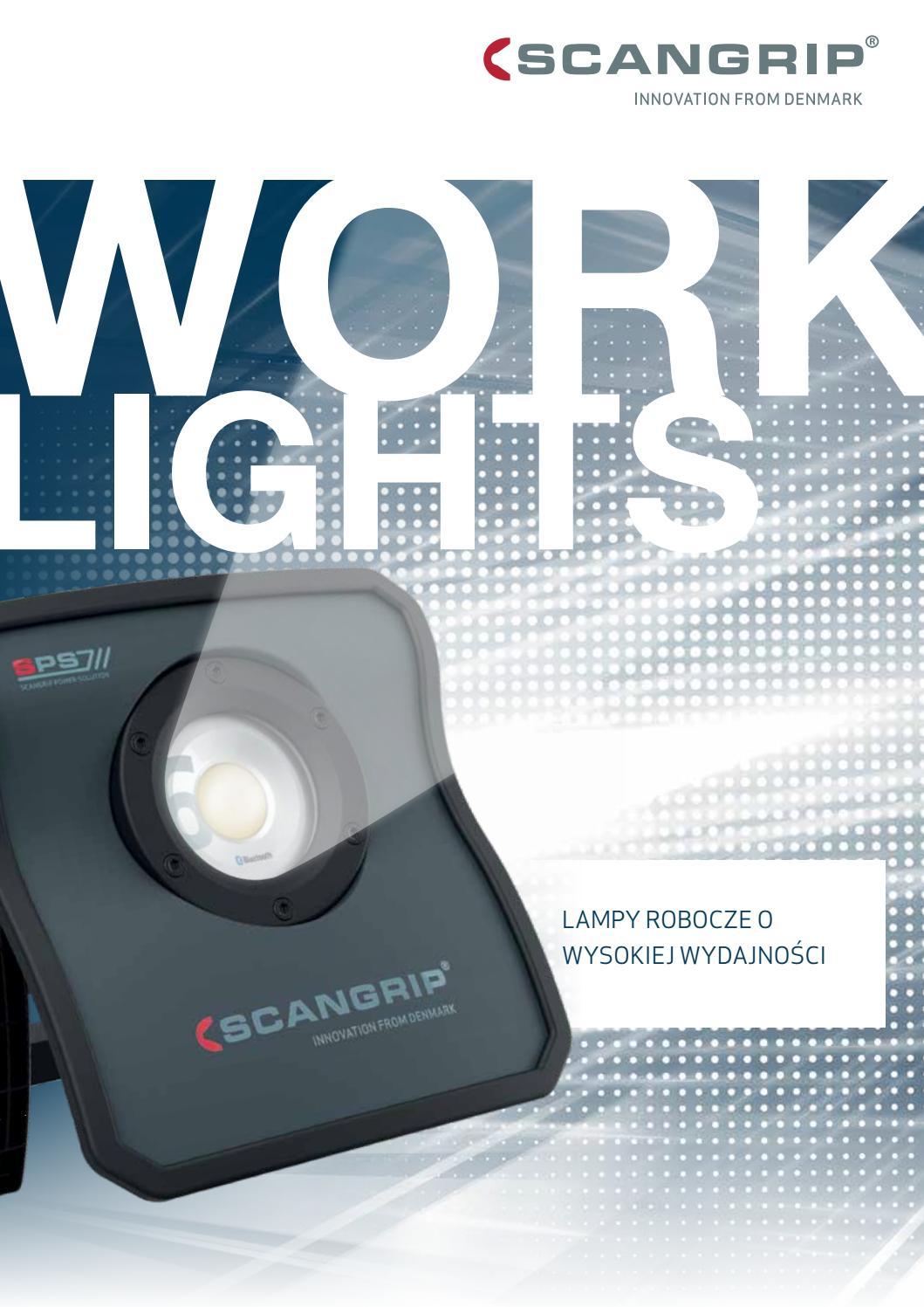 Scangrip Work Lights Katalog By Beha Tech Issuu