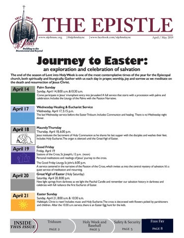 April / May 2019 by St  John's Episcopal Church - issuu
