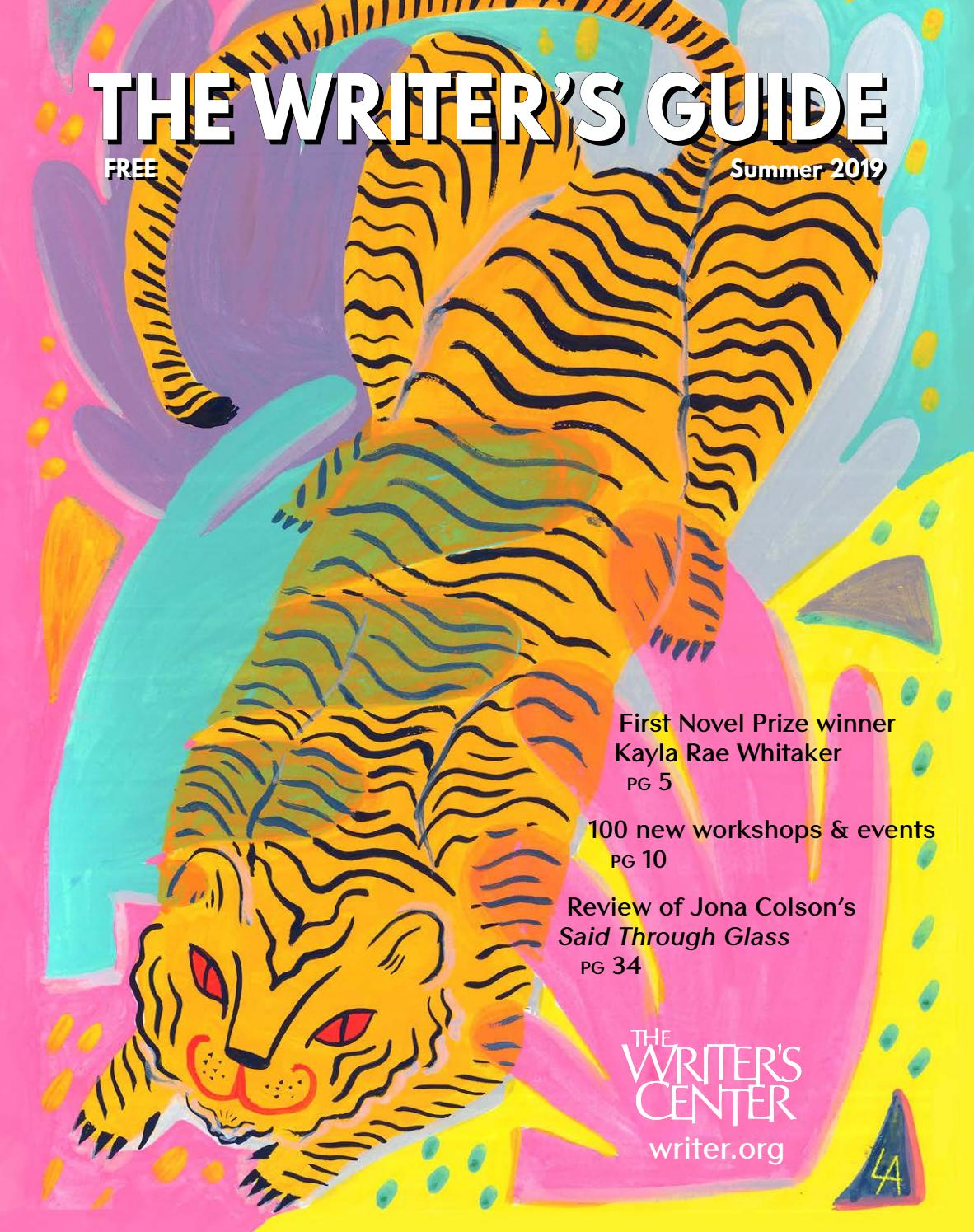 The Writer's Guide - Summer 2019 by The Writer's Center - issuu