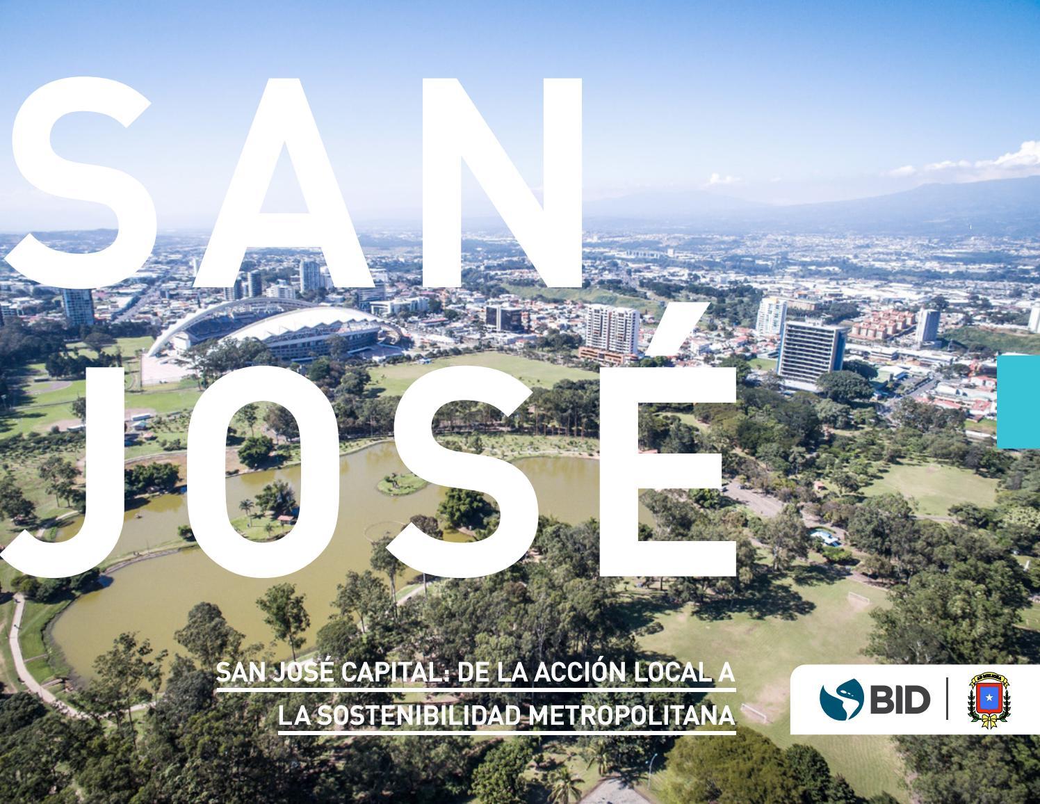 285207799 San José Capital: de la acción local a la sostenibilidad metropolitana by  BID - Ciudades Sostenibles - issuu