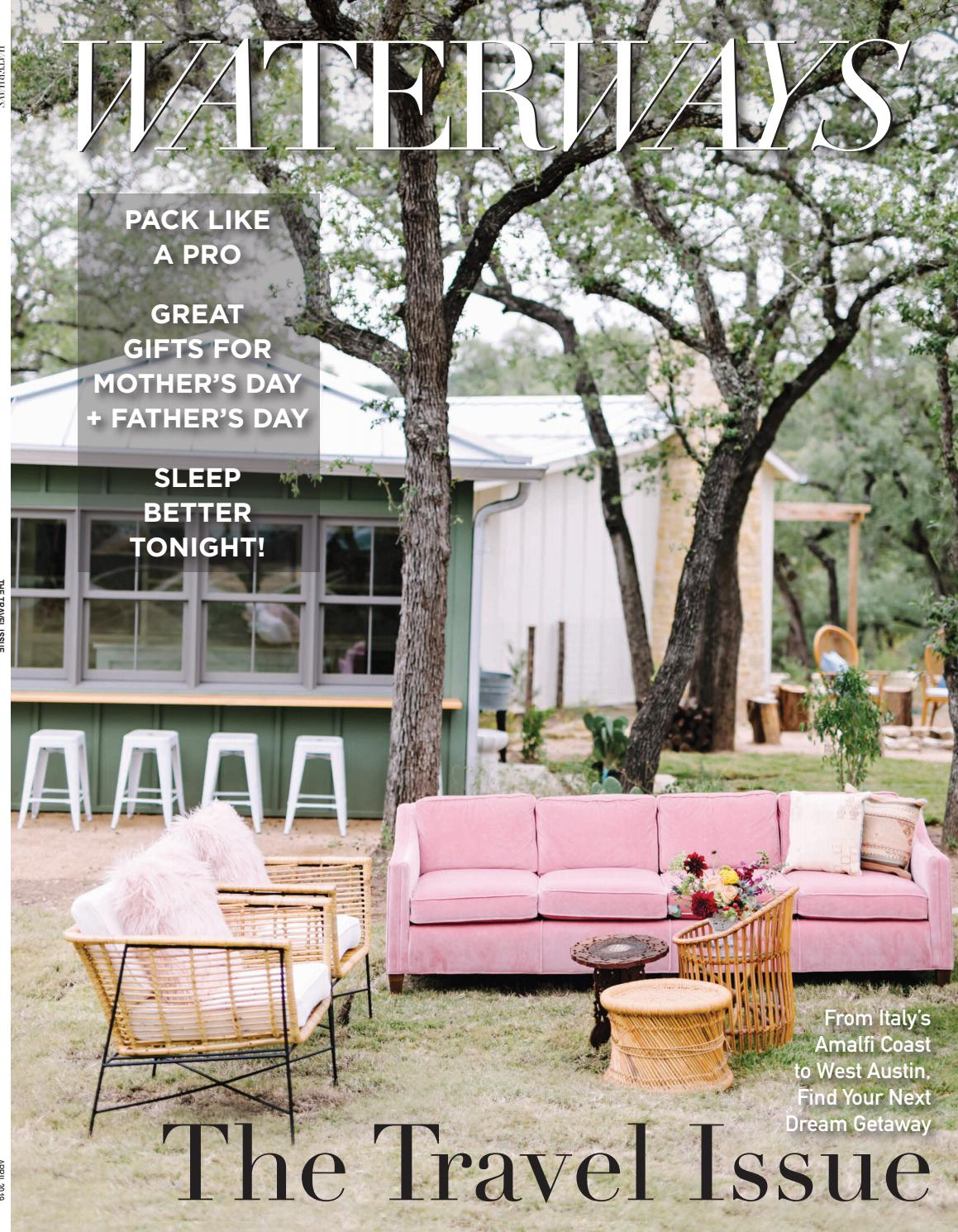 Waterways Magazine April Issue 2019 by Waterways_Austin - issuu