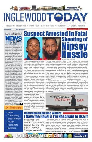 April 4, 2019 by Inglewood Today News - issuu