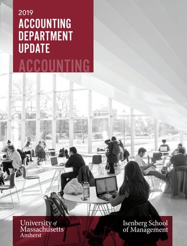 Accounting Department Update 2019 by Isenberg School of