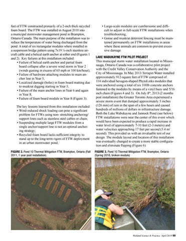 Page 31 of Design Optimization in Floating Treatment Wetlands: An Examination of Key Challenges and Solutions