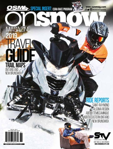 OSM Canada 2019 Travel Guide by On Snow Magazine - ATV World