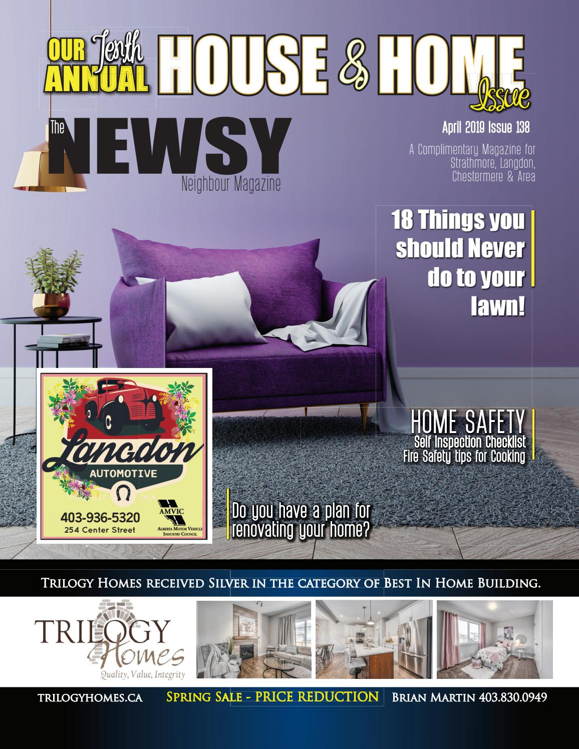 The Newsy Neighbour April Issue 138 by The Newsy Neighbor