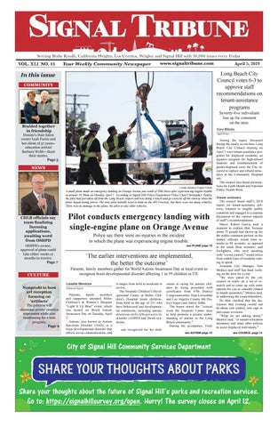 April 5, 2019 | Vol  XLI No  15 by Signal Tribune - issuu