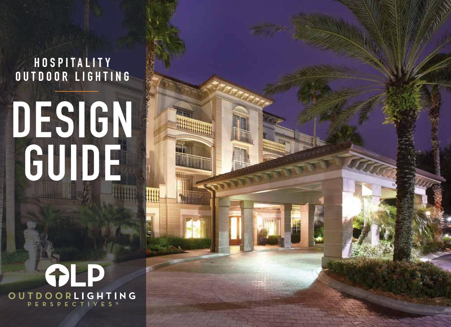 Hospitality Outdoor Lighting Design Guide By Living