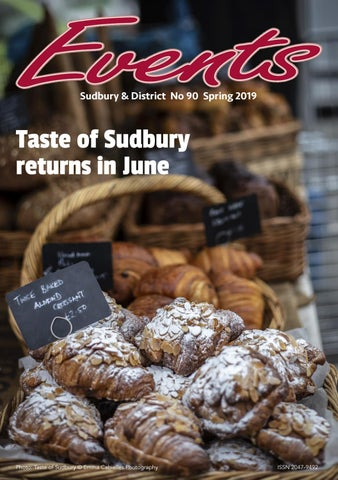 Events - Sudbury No 90 Spring 2019 by Scott Dryden Design