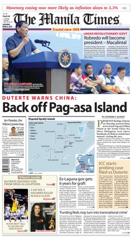 THE MANILA TIMES | APRIL 06, 2019 by The Manila Times - issuu